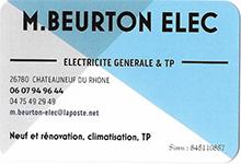 CARTE VISITE M BEURTON ELEC